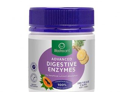 Lifestream Digestive-Enzymes 180