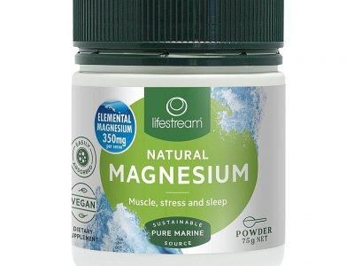 Lifestream natural magnesium 75g