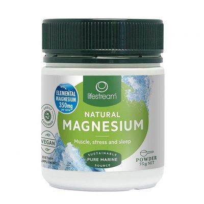 Lifestream natural magnesium 75g