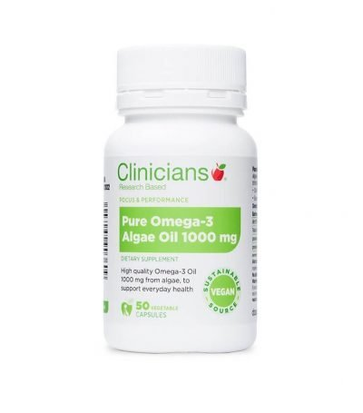 Omega3_Pure_Algae_Oil_1000mg_Clinicians_50vcaps